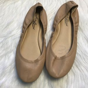 Lucky Brand Tan leather Emmie ballet flats size 8